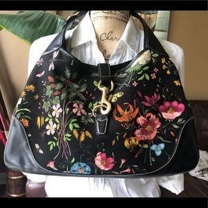 GUCCI Purse Limited Edition FLORAL KELLY PURSE